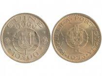 Guinée Portugaise 10 Escudos Armoiries - 1973