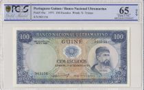 Guinée Portugaise 100 Escudos 1971 - Nuno Tristao - PCGS 65 OPQ