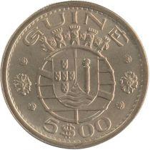 Guinée Portugaise 5 Escudos Armoiries