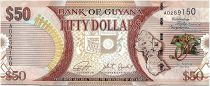 Guyana 50 Dollars  50 Years of Independance - 2016 -UNC - P.41