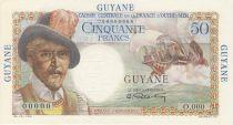 Guyane Française 50 Francs Belain d´Esnambuc - 1946 Spécimen