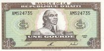 Haïti 1 Gourde - Toussaint L\'Ouverture - Armoiries - 1992