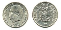 Haïti 10 Centimes - J.C. Duvalier - 1975