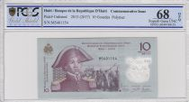 Haïti 10 Gourdes - Sanite Belair -  Polymer - 2017 - PCGS 68 OPQ