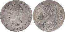 Haïti 100 Centimes J P Boyer - Armoiries - An 26