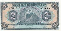 Haiti 2 Gourdes - Citadel Rampart - Arms - 1990 - P.254a - UNC