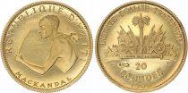 Haiti 20 Gourdes 1968 - Gold - KM.66 - XF