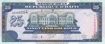 Haïti 25 Gourdes - Palais de Justice - Armoiries - 2014