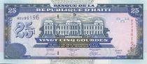 Haïti 25 Gourdes Palais de Justice