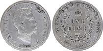 Hawai 10 Cent Roi Kalakaua I - Armoiries - 1883