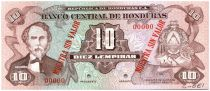 Honduras 10 Lempiras Cabanas - City University