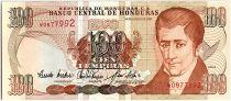 Honduras 100 Lempiras, J.C. Del Valle - Ecole - 01/1993