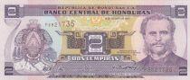 Honduras 2 Lempira Marco Aurelio Soto - Isle of Tiger - 2004