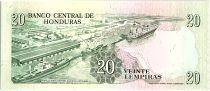 Honduras 20 Lempiras, Dionisio de Herrera - 1990