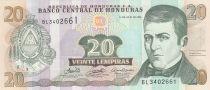 Honduras 20 Lempiras, Dionisio De Herrera - 2006 - UNC - P.93a