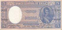 Honduras 5 Pesos 1935