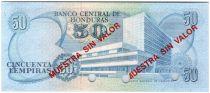 Honduras 50 Lempiras Juan Manuel Galvez - Bank bdlg