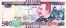 Honduras New.2012 500 Lempiras, Ramon Rosa - View of Rosario in 1893 - 2012