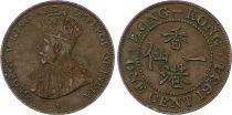 Hong-Kong 1 Cent George V - 1934