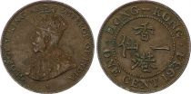 Hong Kong 1 Cent George V - 1934