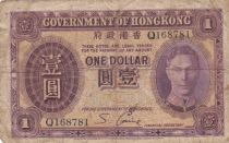 Hong Kong 1 Dollar George VI - 1936 - Fine - P.312