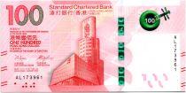Hong-Kong 100 Dollars, Standard Chartered Bank - Opéra - 2018 ( 2019) - Neuf