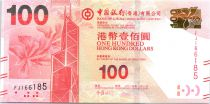 Hong-Kong 100 Dollars, Tour Bank of China - Lion Rock - 2014