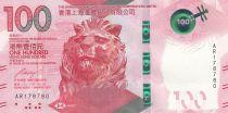 Hong-Kong 100 Dollars Tête de lion - Opera - 2018 (2019) - Neuf