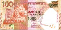 Hong-Kong 1000 Dollars, Tête de lion - Festival du Dragon - 2013