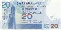 Hong-Kong 20 Dollars, Bank of China - 2003 - Neuf - P.335a