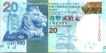 Hong-Kong 20 Dollars, Tête de lion - Festival d\'Automne - 2014