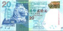 Hong-Kong 20 Dollars, Tête de lion - Festival d\'Automne - 2016