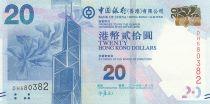 Hong Kong 20 Dollars Bank of China Tower - Repulse Bay - 2014 - UNC - P.341