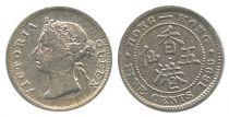 Hong Kong 5 Cents Victoria - Mixed years 1898-1901