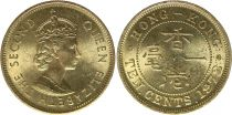 Hong Kong 5 Cents Victoria - Mixed years 1898-1901