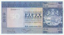 Hong Kong 50 Dollars - HSBC - 1981 - P.184g - XF
