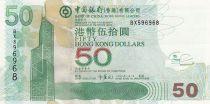Hong Kong 50 Dollars, Bank of China- Airport - 2008 - UNC - P.336