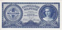 Hongrie 1 Milliard de Milpengo de Milpengo, Portrait de femme