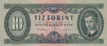 Hongrie 10 Forint 1949 - Petofi Sandor 2ème ex