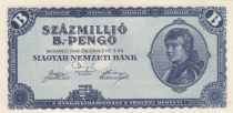 Hongrie 100 000 000 B-Pengö 1946