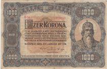 Hongrie 1000 Korona St Stephan - 1920 - TB - P.66a Série B.4