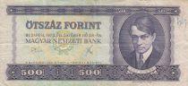 Hongrie 500 Forint 1975 - Ady Endre, Danube