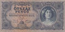 Hongrie 500 Pengö 1945