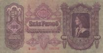 Hungary 100 Forint  - King Matyas 1930 - VF - P.98