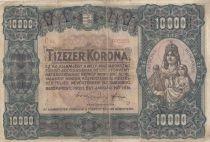 Hungary 10000 Korona Patria Hungariae - 1920 - Fine - P.68 Serial C 04