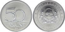 Hungary 50 Forint - 150 Years of Firefighters - 2020 - AU