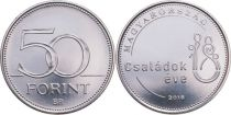 Hungary 50 Forint 2018 - Year of the Families