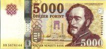 Hungría 5000 Forint, Istvan Szechenyi - 2016