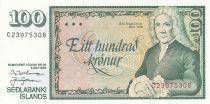 Iceland 100 Kronur 1961 - Arni Magnusson