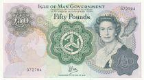 Ile de man 50 Pounds Elisabeth II - Douglas Bay - 1983 - Neuf - P.39